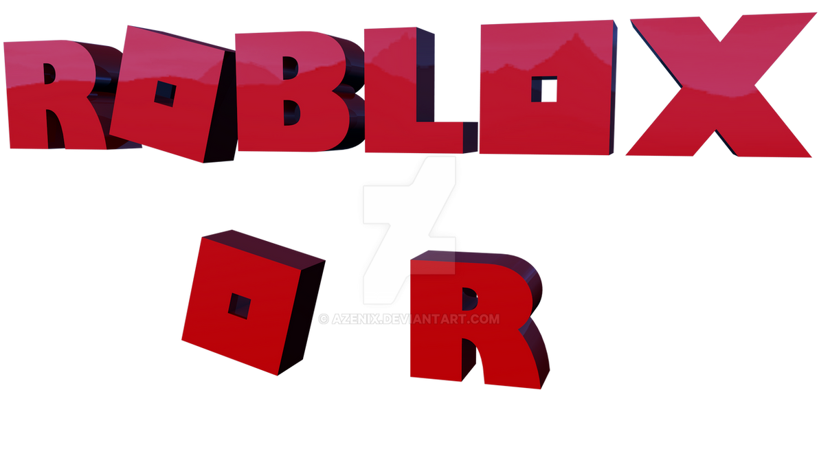 Free Roblox Logo Model by Azenix on DeviantArt - Roblox Wallpaper