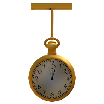 CatalogConductors Gold Pocket Watch  ROBLOX Wikia