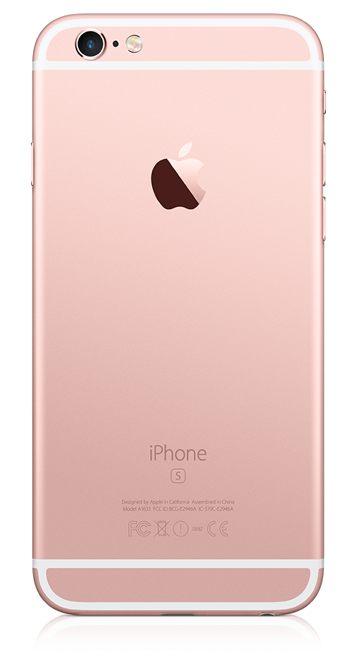 iPhone 6s Plus Apple Telephone Rose Gold  back png