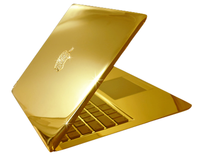 Everything is better in gold even an Apple  Macbook