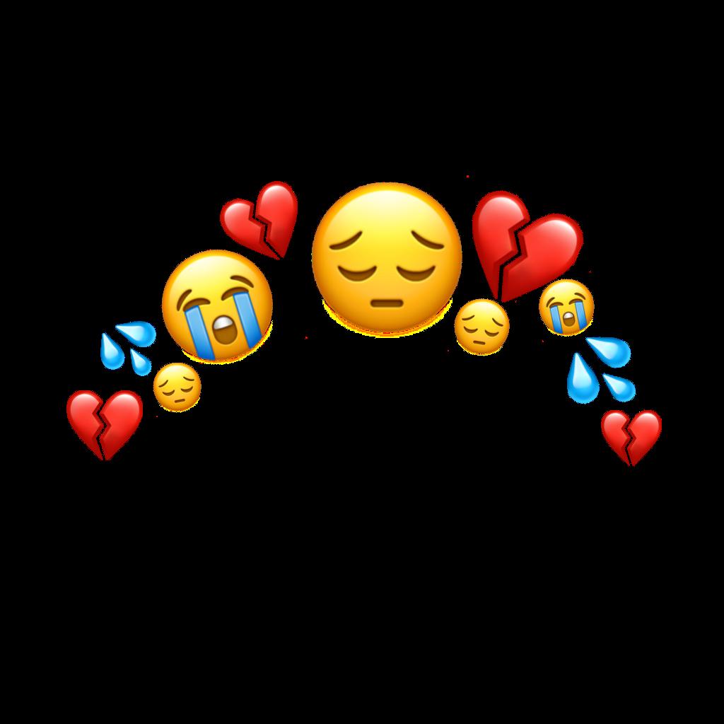 Sad Heartbroken Crying Emoji Images