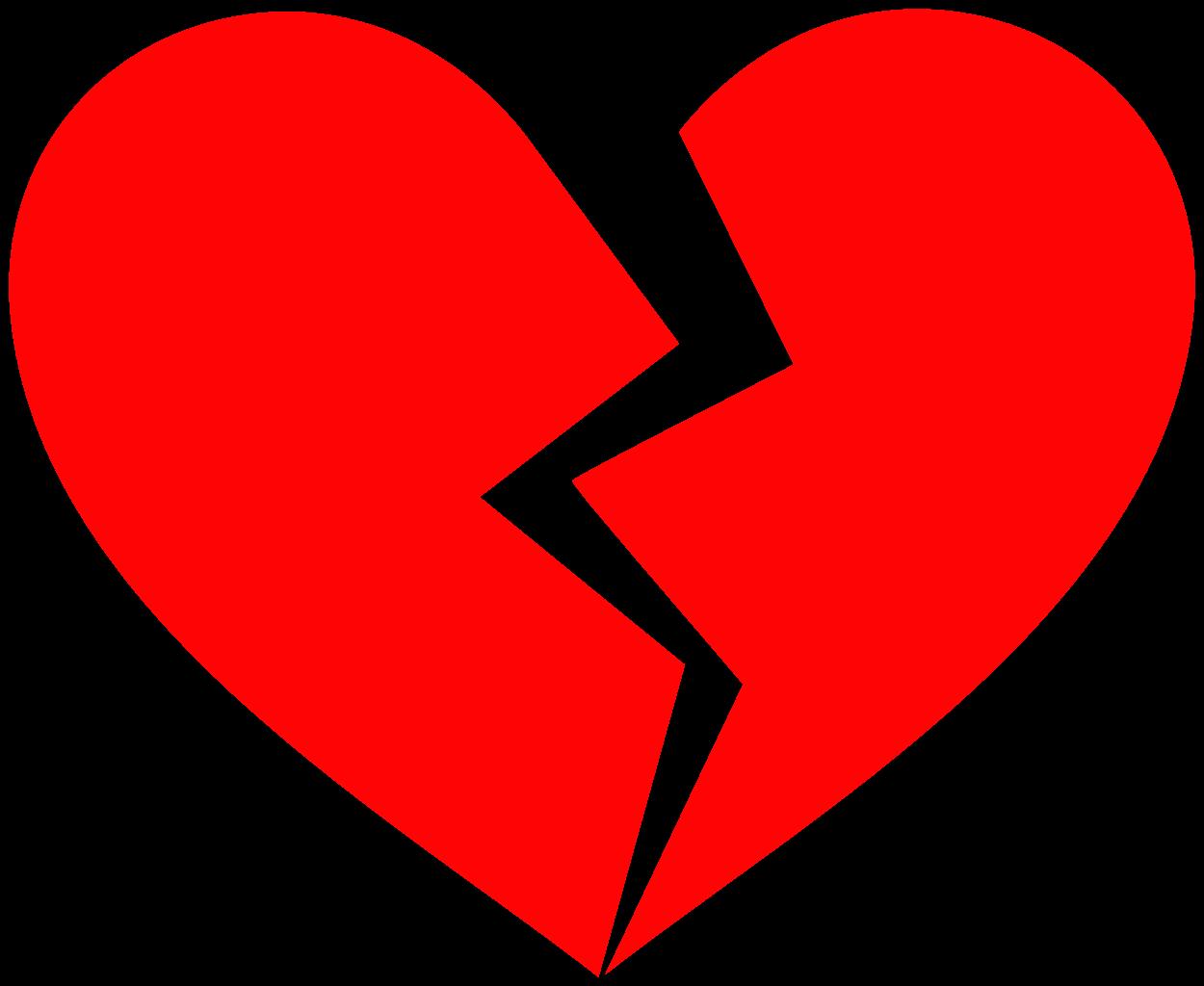 Broken heart clipart sad pictures on Cliparts Pub 2020! - Sad Heart Emoji