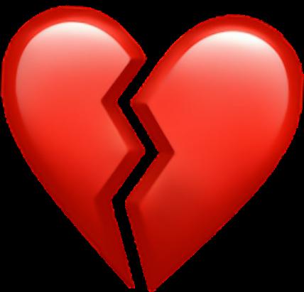Download Heart Broken Brokenheart Sad Red Hearts  Small