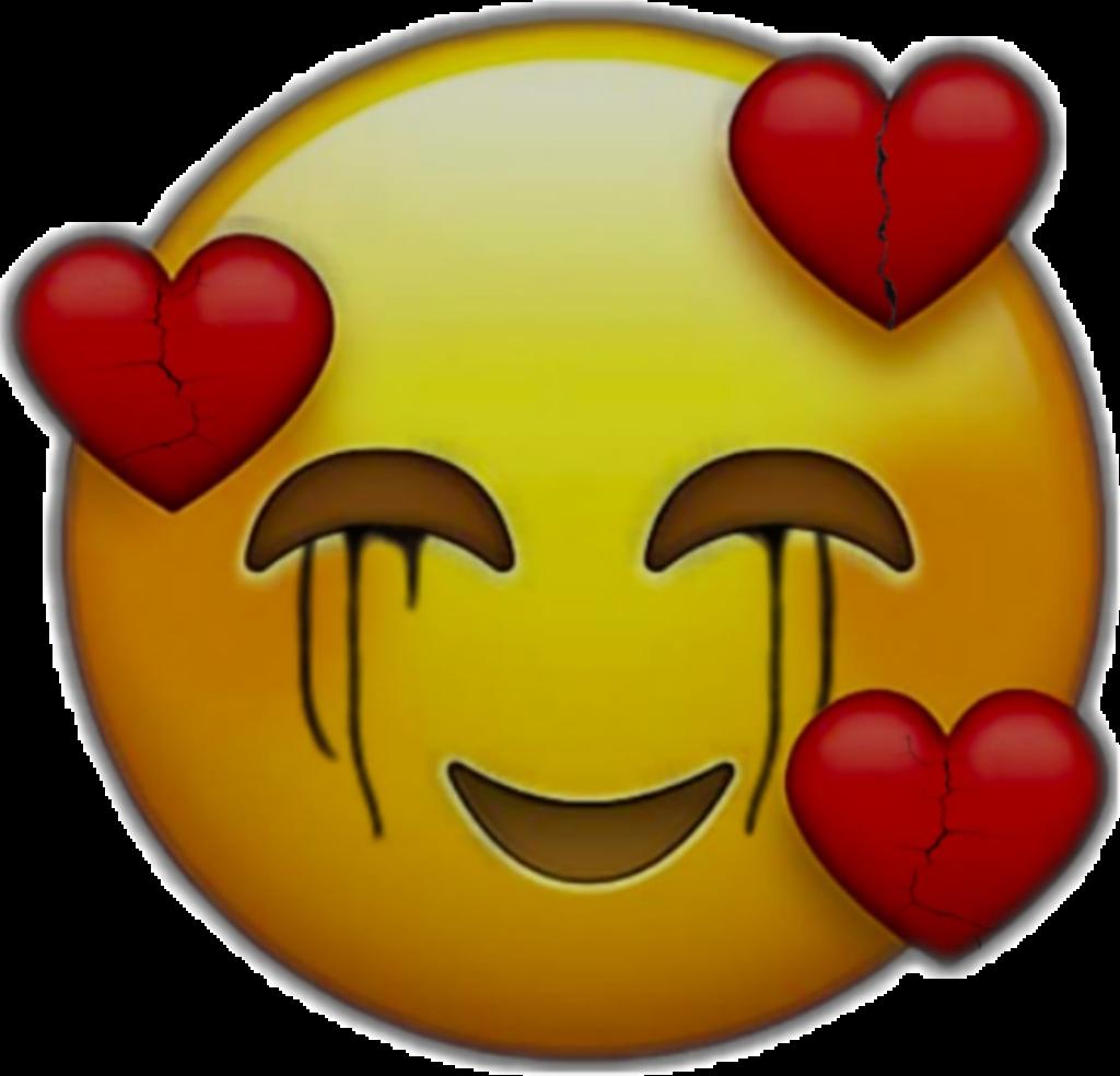 happy sad emoji heart brokenhearted