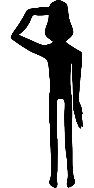 Silhouette Of Soldier Saluting at GetDrawingscom  Free