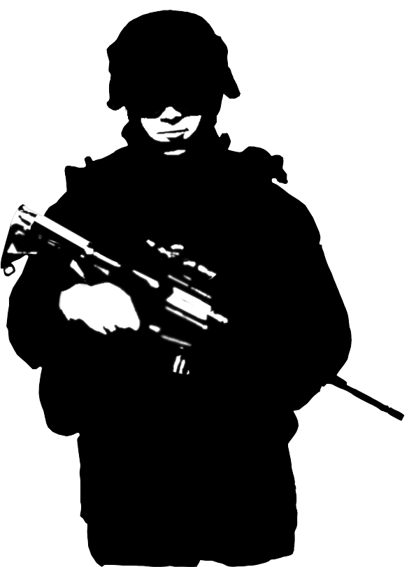soldier silhouette  Google Search  Soldier silhouette