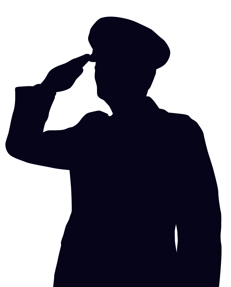 Free Silhouette Soldier Salute Download Free Clip Art