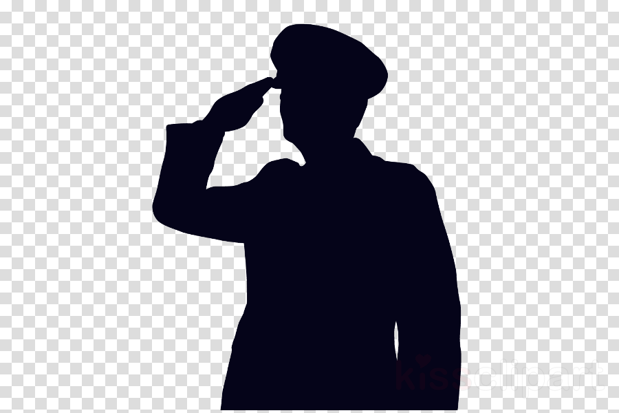 Soldier Salute Png & Free Soldier Salute.png Transparent ... - Salute Silhouette