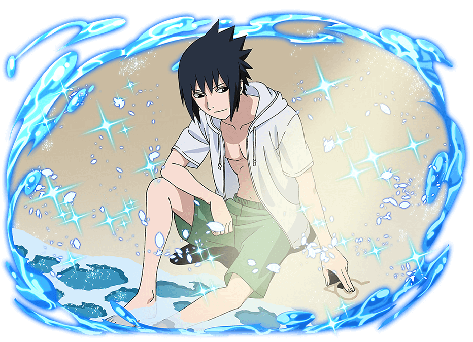 Sasuke Uchiha A Break from the Waves  Ultimate Ninja
