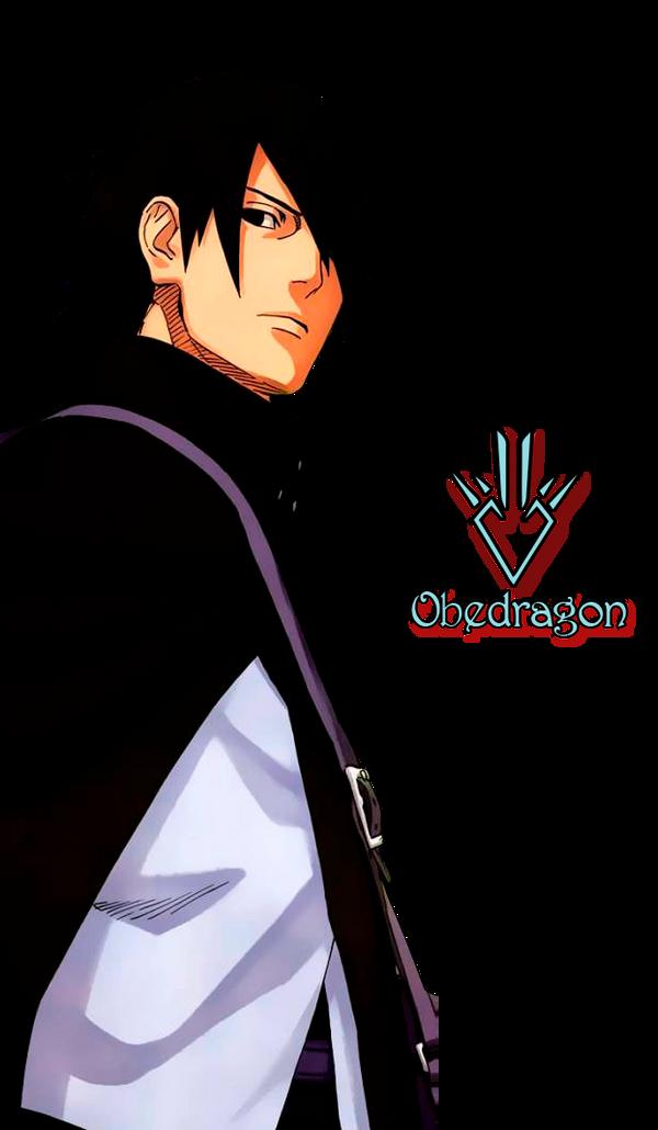Naruto Shippuden by Obedragon on DeviantArt - Sasuke Back