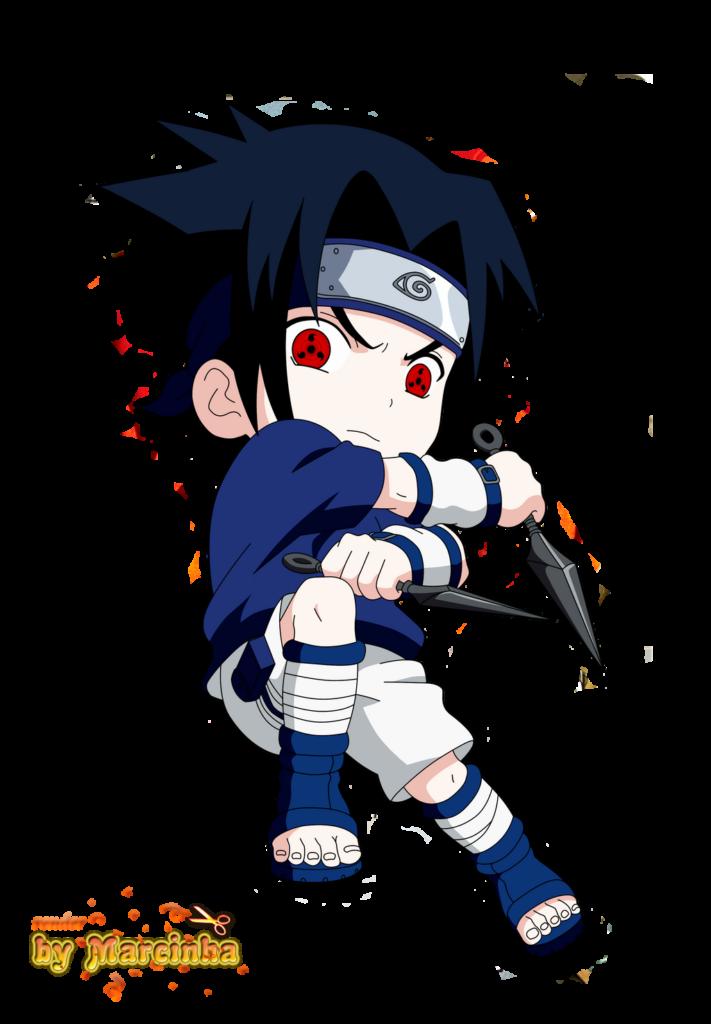 PNG Chibi Sasuke Sharingan by Marcinha20 on DeviantArt