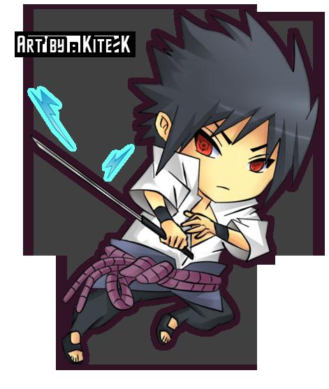 Chibi Sasuke Render by CartoonPerson on DeviantArt