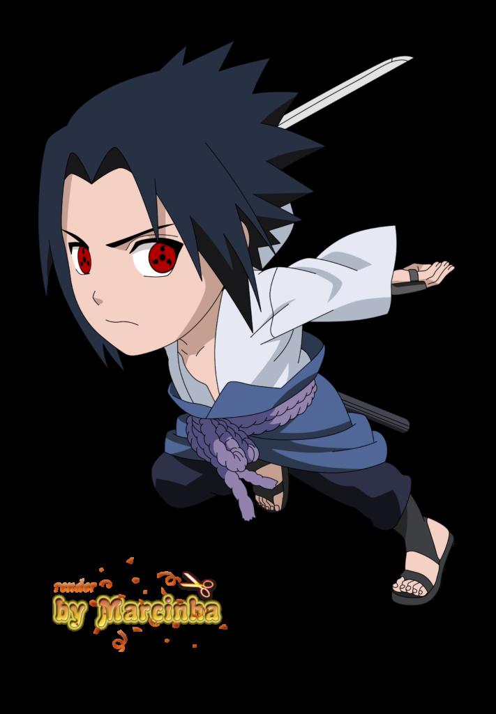 PNG Chibi Sasuke Uchiha Sharingan eyes  Chibi Anime