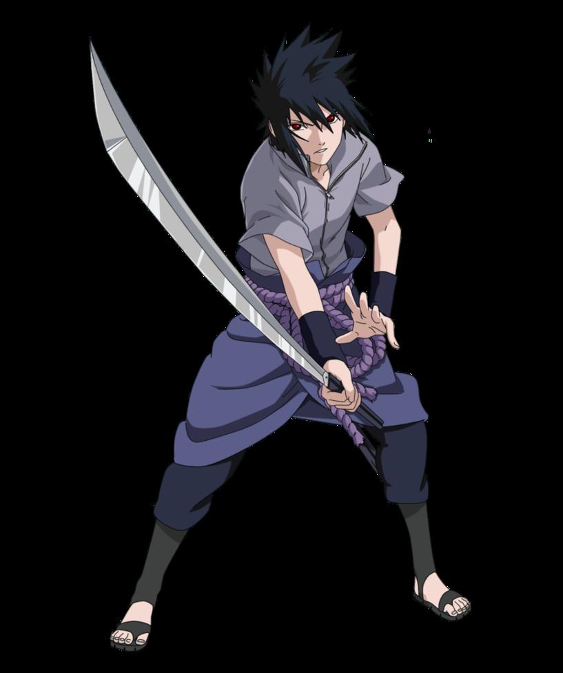 Download Uchiha Sasuke Transparent Background HQ PNG Image
