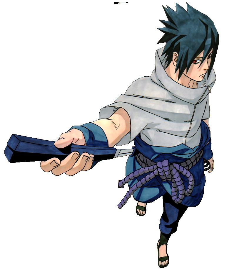 Naruto Character Themes Sonic Style  Uchiha Sasuke