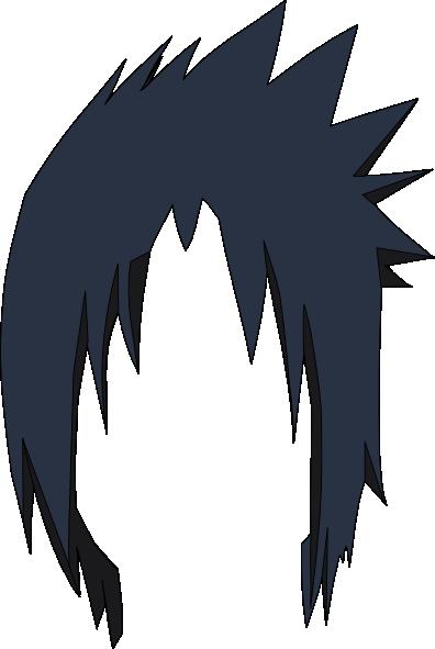 Sasuke Hair Lol Clip Art at Clkercom  vector clip art