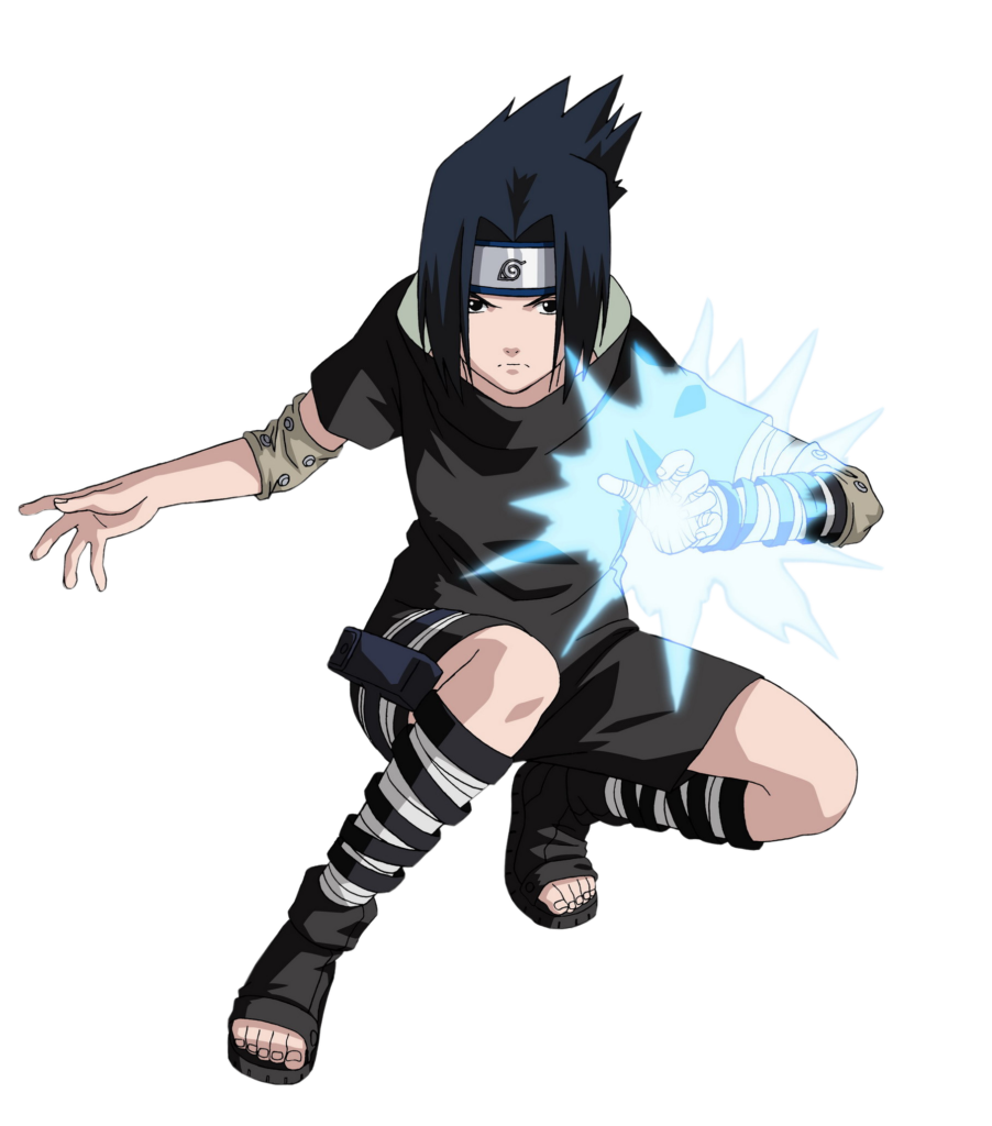 Library of vector black and white stock sasuke png files