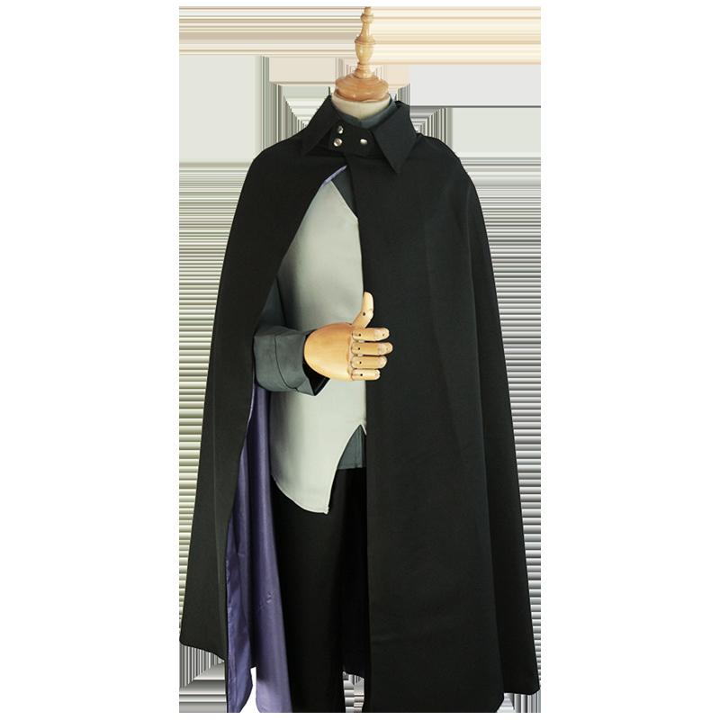 Anime Boruto Vest Naruto Sasuke Cape Cosplay Costume Coat
