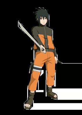 Sasuke Narutos Outfit render Ninja Storm Rev by
