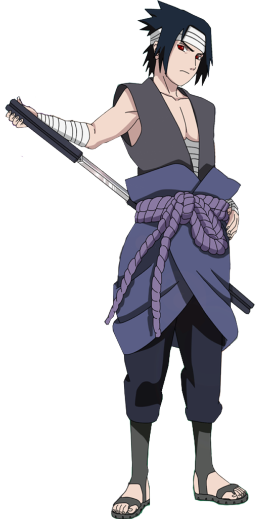 I JUST REALIZED WHO SASUKE REMINDS ME OF IN THIS OUTFIT