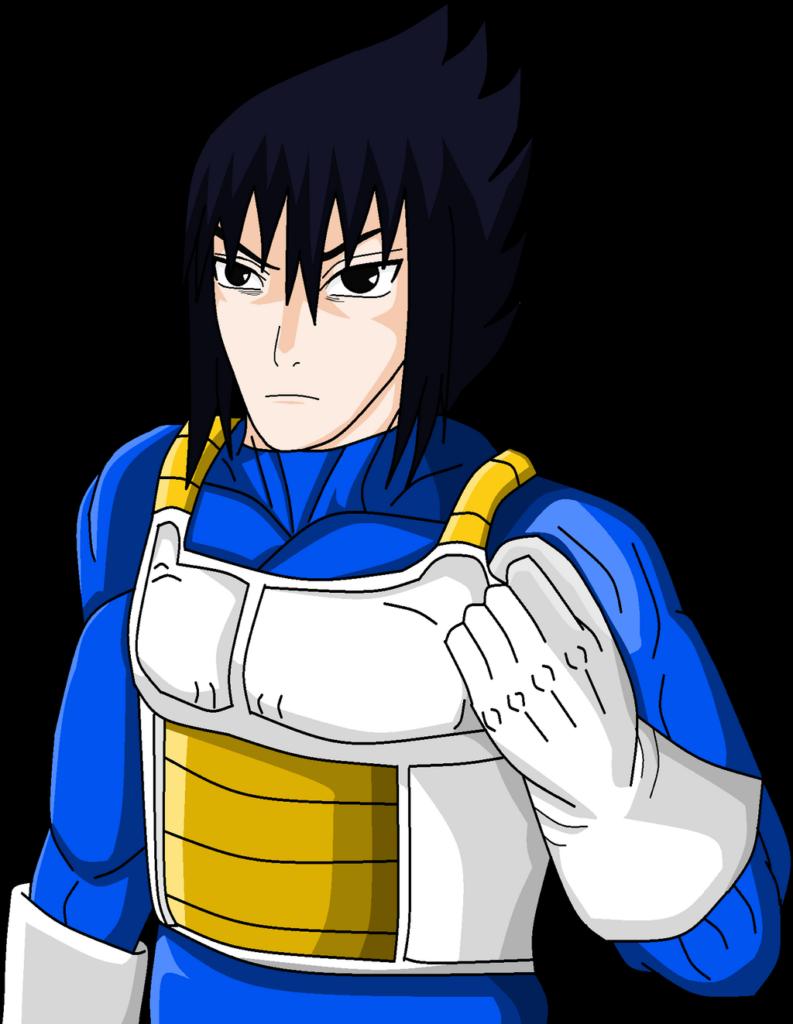 BOND Sasuke in Saiyan Armor by LeeHatake93 on DeviantArt
