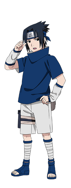 Young Sasuke Uchiha render U Ninja Blazing by https