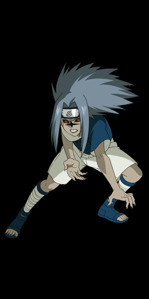 Sasuke Curse seal render Ultimate Ninja Storm by https