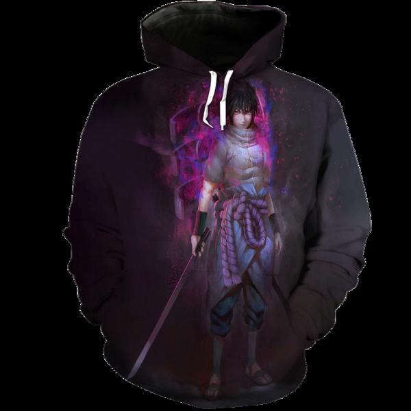 Sasuke 3D Hoodie  Hoodies Sasuke Fashion