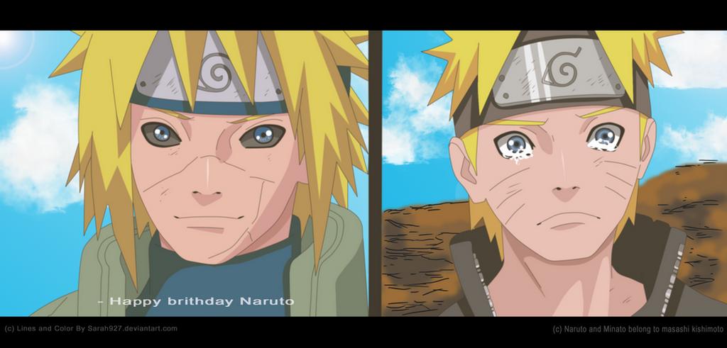 Naruto Scan 691 Goodbye Dad by Sarah927 on DeviantArt