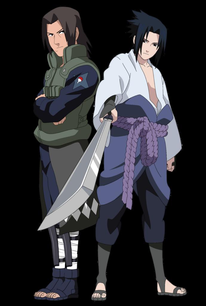 Uchiha Father and Son by Alakazum on DeviantArt