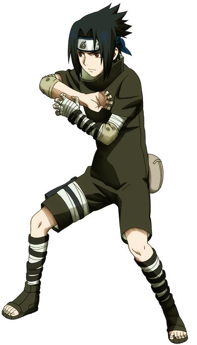SasukeChunin Exam vs Kid Kakashi
