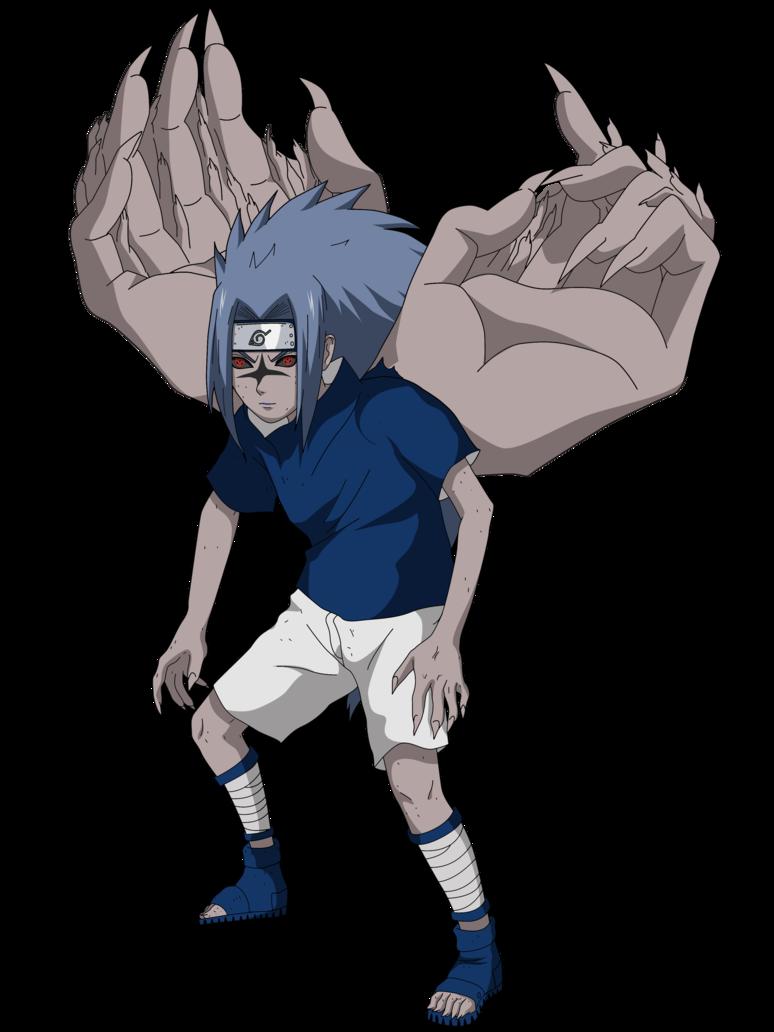 sasuke_curse_seal_2_render_by_lwisf3rxd-d8vzprl.png (774 ... - Sasuke Demon