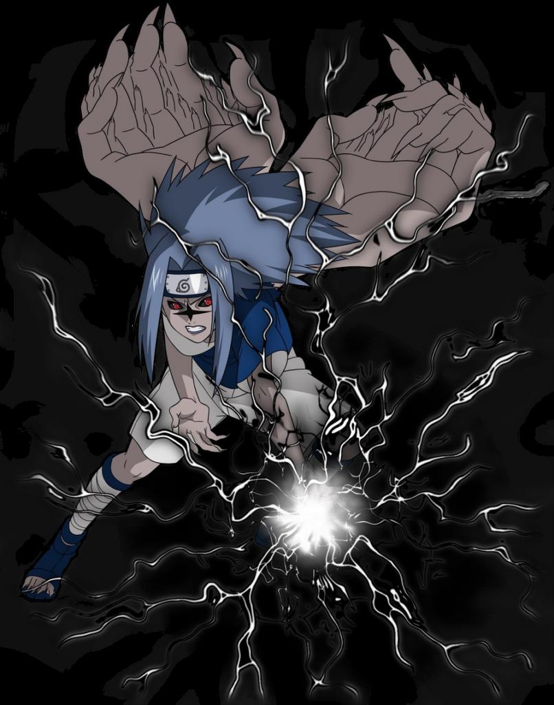Sasuke Uchiha cursed seal lv 2 by strife000 on DeviantArt