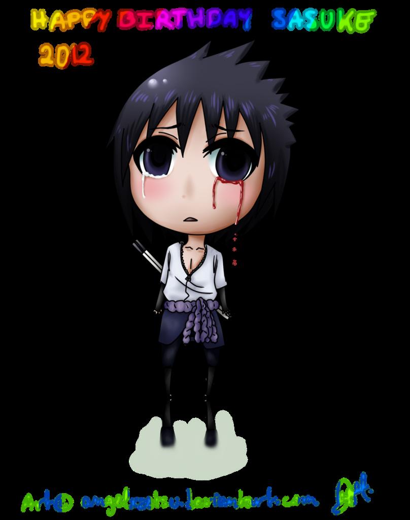 Happy birthday Sasuke by AnaelAnChi on DeviantArt