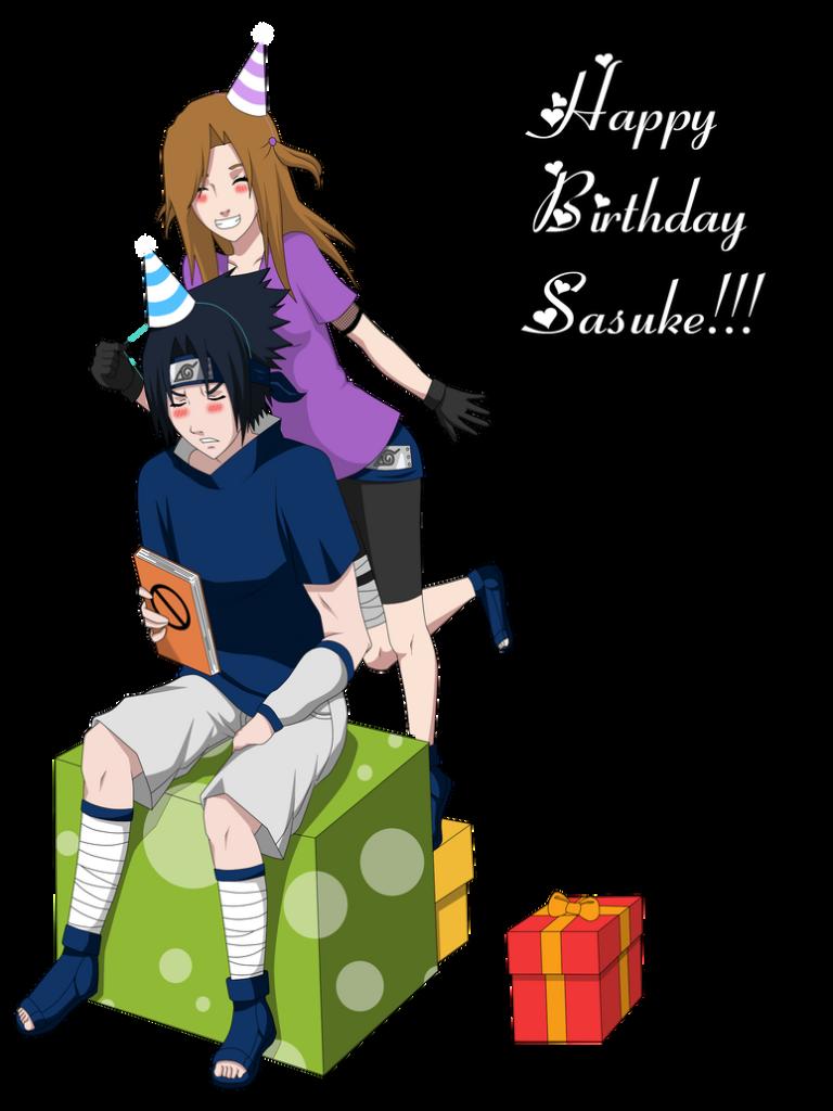 Happy Birthday Sasuke by KellyMeyer on DeviantArt