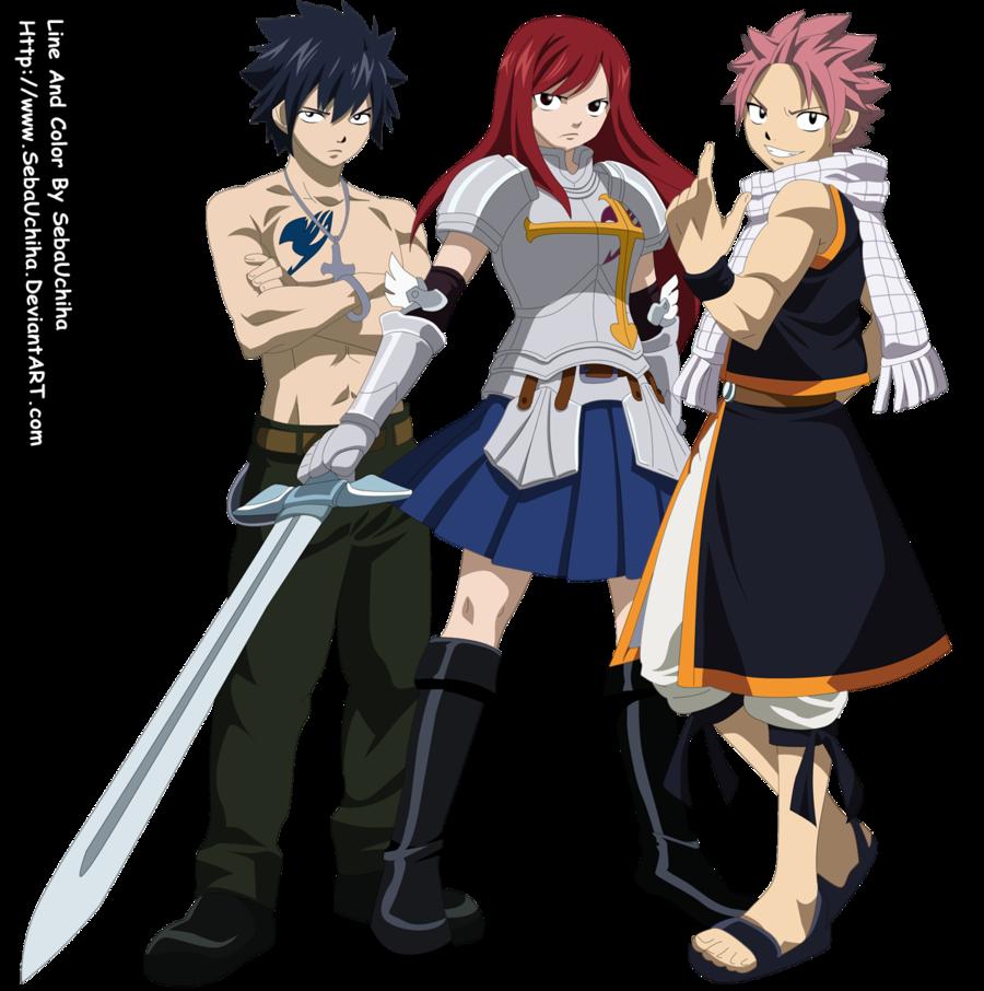 Who would win an anime team vs anime team  Fairy Tail
