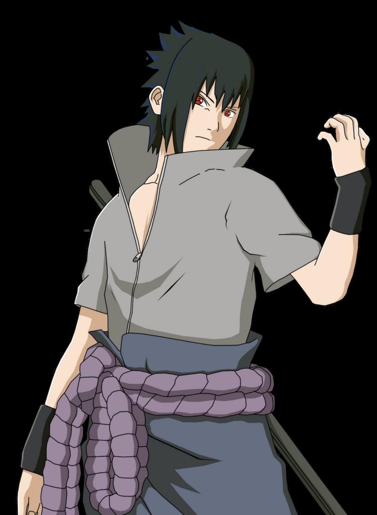 Naruto Shippuden Sasuke Uchiha Sharingan by iEnniDESIGN