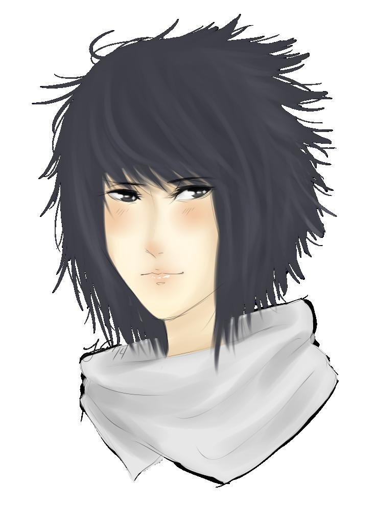 Sasuke Headshot by drivealeaf on DeviantArt