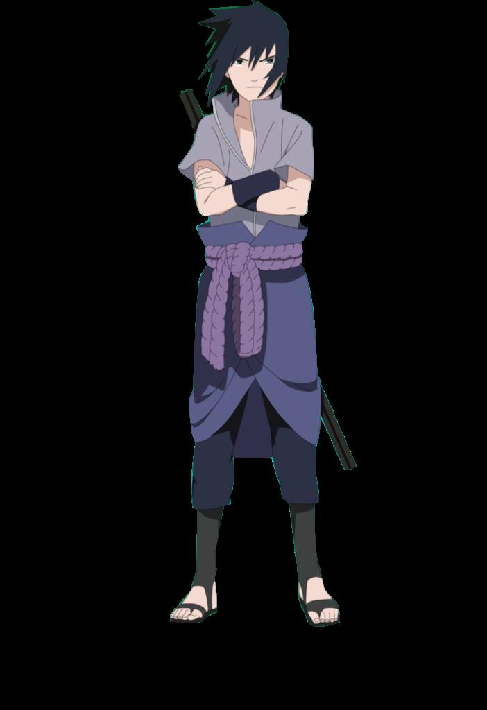 Otaku render  Sasuke chorando render