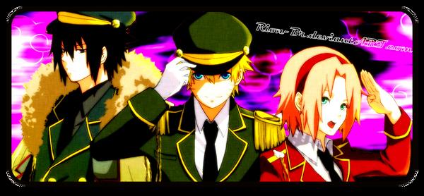 TEAM 7 Sasuke Naruto Sakura by RionBr on DeviantArt