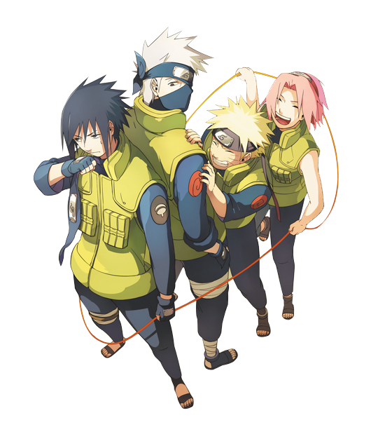 Team 7 Render by MayaGenetic on DeviantArt  Anime naruto