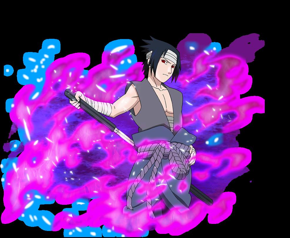 Sasuke Uchiha by AiKawaiiChan com imagens  Anime