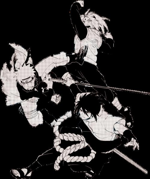 Team 7  Naruto Sasuke  Sakura  Sakura and sasuke