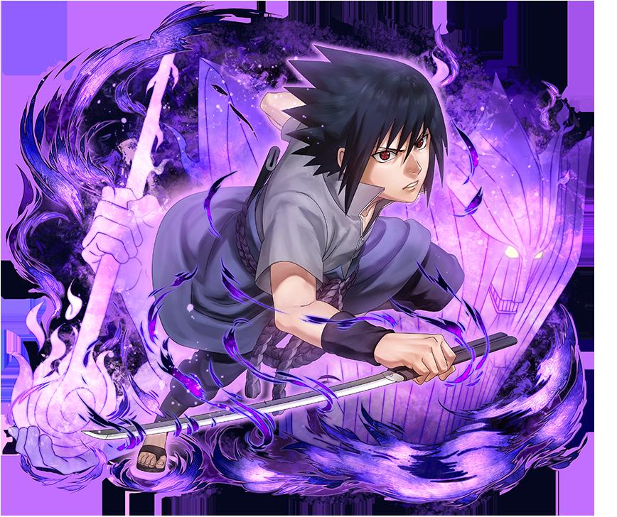 Sasuke Uchiha render Ultimate Ninja Blazing by