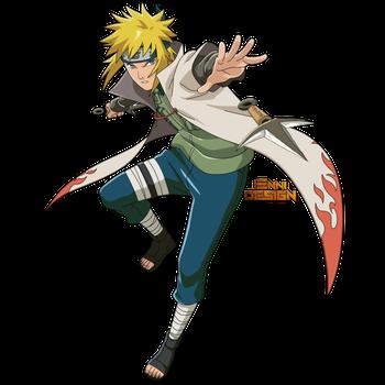 Naruto ShippudenMinato Namikaze Fourth Hokage by