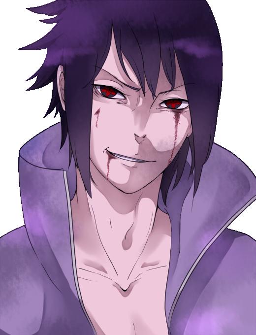 Naruto Shippuden Sasuke Uchiha  Render 3 by Takashi14 on