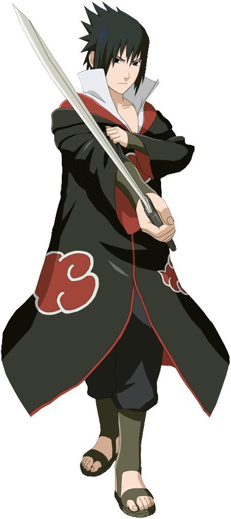 Why does Sasuke seem weaker in Naruto Shippuden