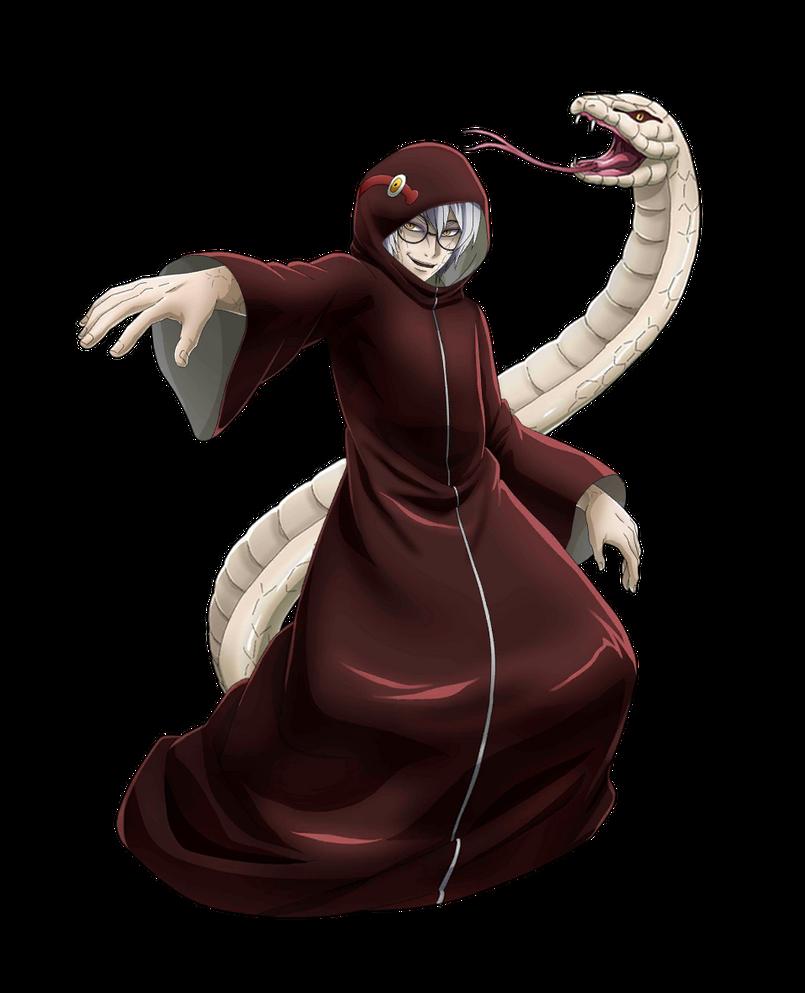 Kabuto Snake cloak render 3 NxB Ninja Voltage by
