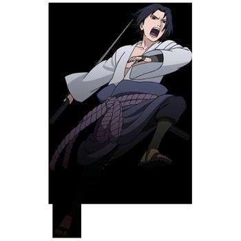 Sasuke Uchiha render Shinobi Rumble by maxiuchiha22 on