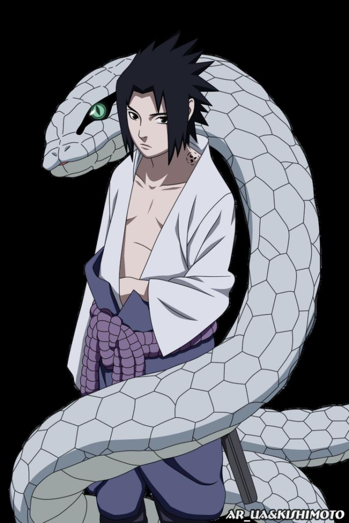 Sasuke and Hebi by ARUA on DeviantArt